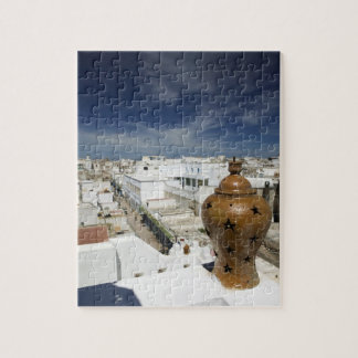 MOROCCO, Atlantic Coast, ESSAOUIRA: High Vantage Jigsaw Puzzle
