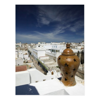 MOROCCO, Atlantic Coast, ESSAOUIRA: High Vantage Postcard