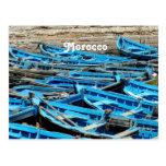 Morocco Boats Post Card