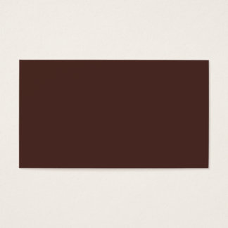 Morocco Brown Business Card