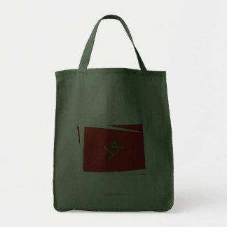 Morocco Brush Flag Canvas Bags