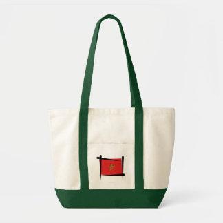 Morocco Brush Flag Bags