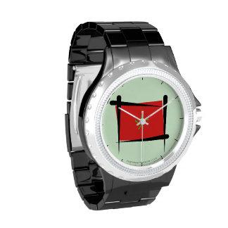 Morocco Brush Flag Wristwatches
