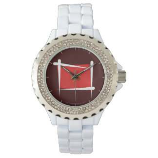 Morocco Brush Flag Wrist Watches