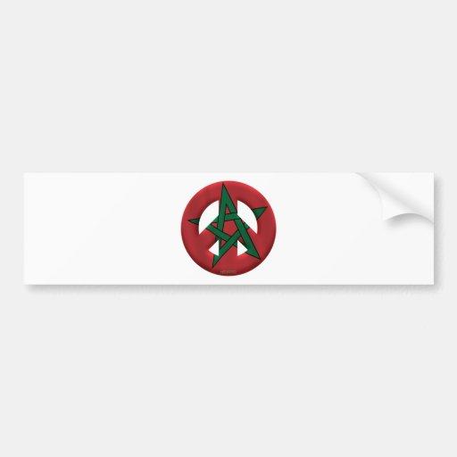 Morocco Bumper Stickers