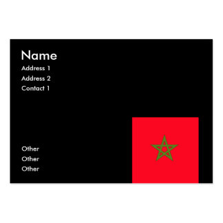 Morocco Pack Of Chubby Business Cards