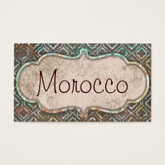 Morocco Business Cards