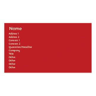 Morocco - Business Pack Of Standard Business Cards