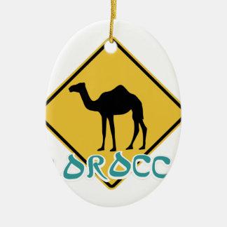 Morocco Christmas Ornament