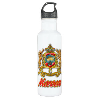 Morocco Coat of Arms 710 Ml Water Bottle