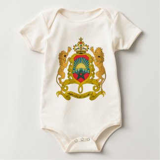 Morocco Coat Of Arms Baby Bodysuits