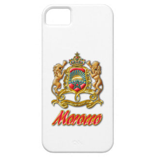 Morocco Coat of Arms Barely There iPhone 5 Case