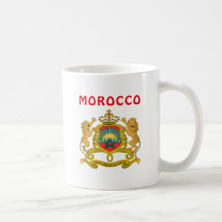 Morocco Coat Of Arms Basic White Mug