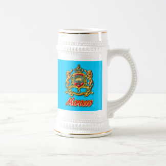 Morocco Coat of Arms Beer Steins