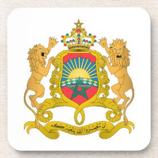Morocco Coat of Arms Beverage Coaster