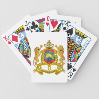 Morocco Coat Of Arms Bicycle Playing Cards