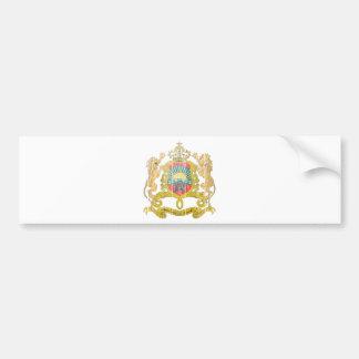 Morocco Coat Of Arms Bumper Sticker