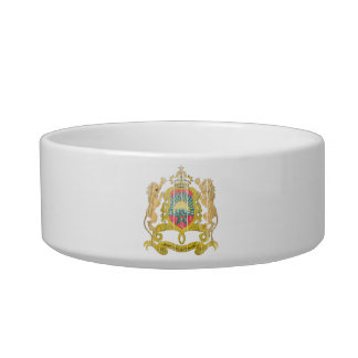 Morocco Coat Of Arms Cat Bowls