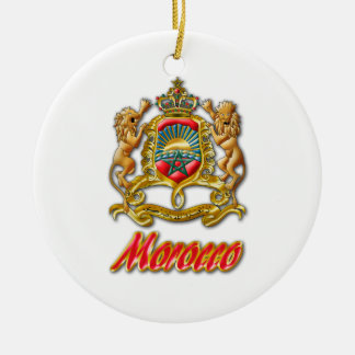 Morocco Coat of Arms Christmas Ornament