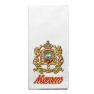 Morocco Coat of Arms Cloth Napkins