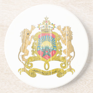 Morocco Coat Of Arms Coasters