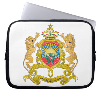 Morocco Coat Of Arms Computer Sleeve