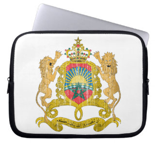 Morocco Coat Of Arms Computer Sleeves