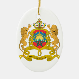 Morocco Coat of Arms Christmas Tree Ornaments