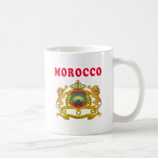 Morocco Coat Of Arms Designs Basic White Mug