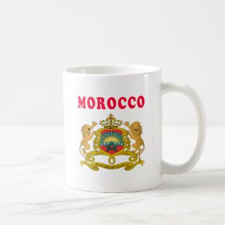 Morocco Coat Of Arms Designs Mugs
