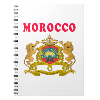 Morocco Coat Of Arms Designs Notebook