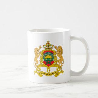 Morocco Coat of Arms detail Basic White Mug