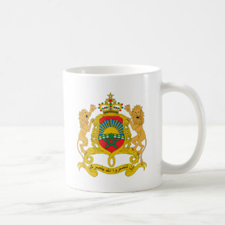 Morocco Coat of Arms detail Classic White Coffee Mug