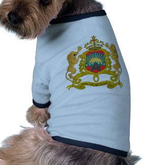 Morocco Coat Of Arms Pet Clothes