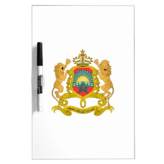 Morocco Coat of Arms Dry-Erase Boards