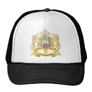 Morocco Coat Of Arms Trucker Hats