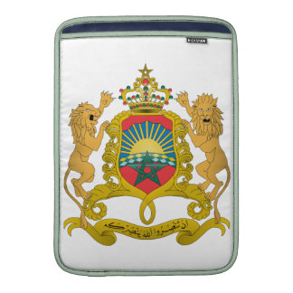 Morocco Coat Of Arms Sleeve For MacBook Air