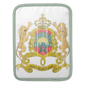 Morocco Coat Of Arms Sleeves For iPads