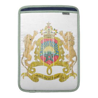 Morocco Coat Of Arms MacBook Sleeves