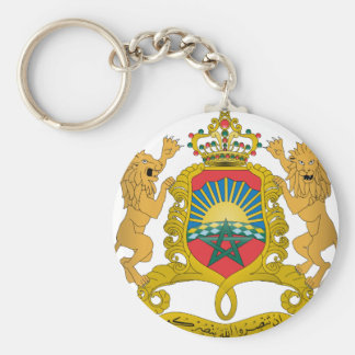 Morocco Coat Of Arms Key Chains