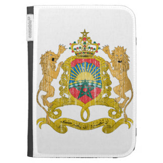 Morocco Coat Of Arms Kindle Case