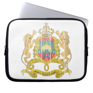 Morocco Coat Of Arms Laptop Computer Sleeve