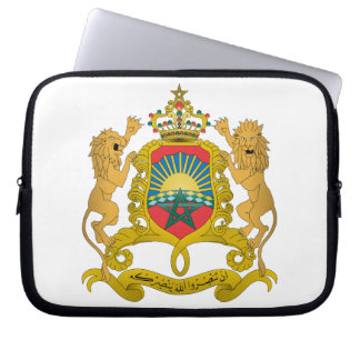 Morocco Coat Of Arms Laptop Computer Sleeves