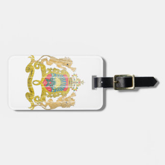 Morocco Coat Of Arms Tags For Bags