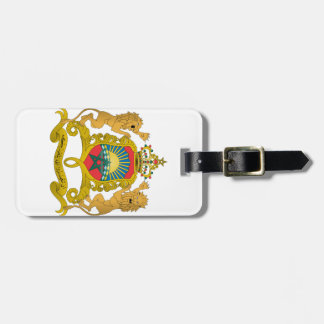 Morocco Coat Of Arms Luggage Tag