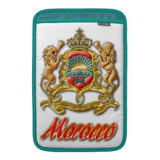 Morocco Coat of Arms MacBook Air Sleeves