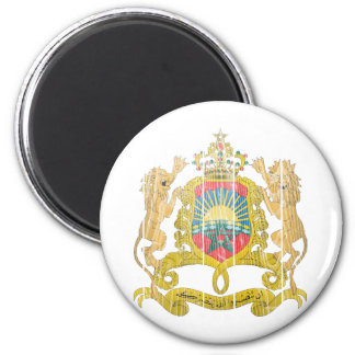 Morocco Coat Of Arms Fridge Magnet