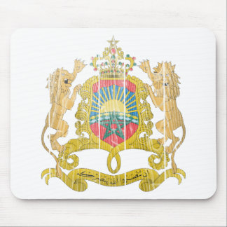 Morocco Coat Of Arms Mouse Pad