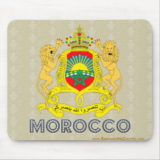 Morocco Coat of Arms Mousepad