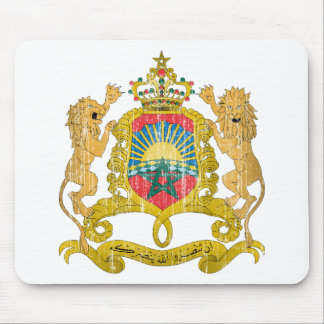 Morocco Coat Of Arms Mouse Pads